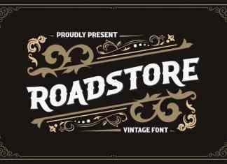 Roadstore Display Font