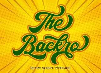 The Backro Calligraphy Font