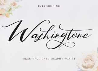 Washingtone Calligraphy Font