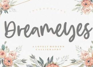 Dreameyes Lovely Modern Calligraphy Font