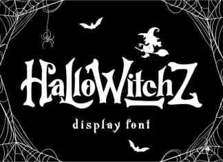 HalloWitchZ Display Font
