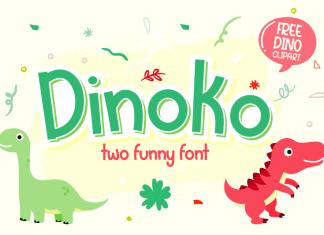 Dinoko Display Font
