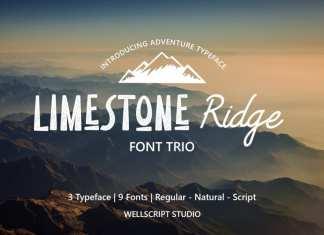 Limestone Ridge – Trio Adventure Font