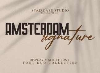 Amsterdam Font Duo