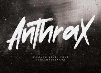 Anthrax Handwritten Font
