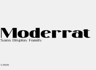 Moderrat Serif Font