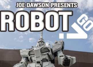 Robot Go Display Font