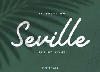 Seville Handwritten Font