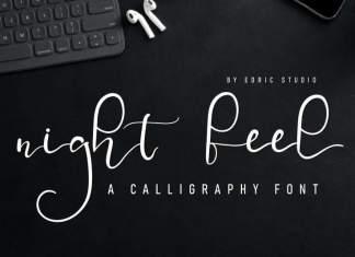 Night Feel Handwriting Font