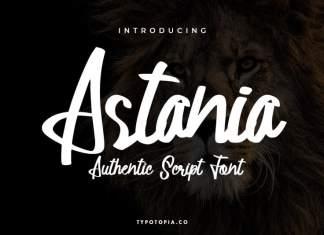 Astania Script Font