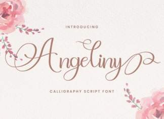 Angeliny Calligraphy Font