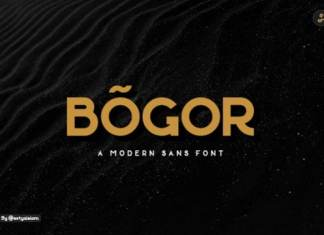 Bogor Sans Serif Font