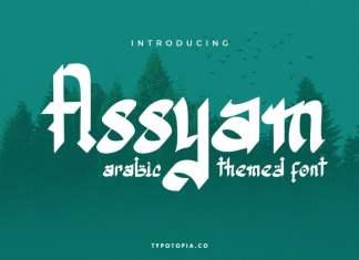 Assyam Display Font