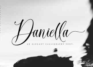 Daniella Calligraphy Font