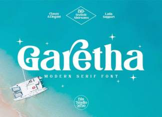 Garetha Serif Font