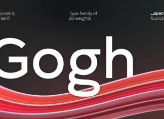 Gogh Sans Serif Font