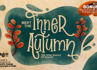 Inner Autumn Display Font