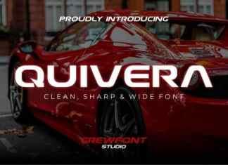 Quivera Display Font