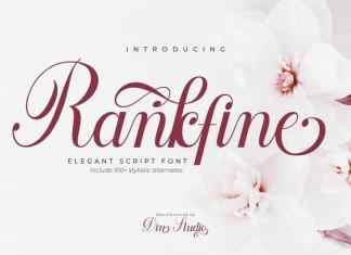 Rankfine Calligraphy Font