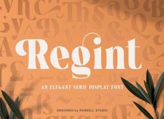 Regint Serif Font