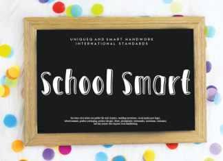 School Smart Script Font