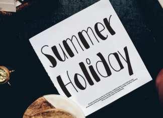 Summer Holiday Script Font
