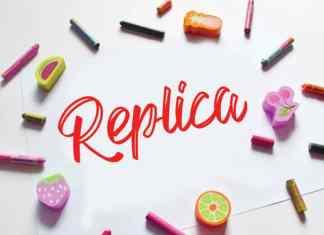 Replica Script Font
