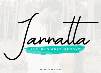 Jannatta Handwritten Font