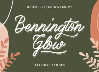 Bennington Brush Script Font