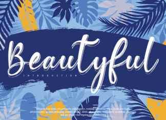 Beautyful Script Font