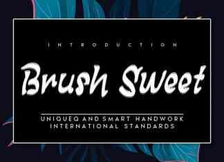 Brush Sweet Brush Font