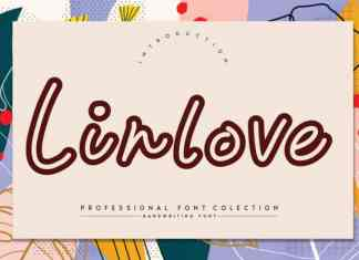Linlove Display Font