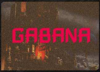 Gabana Display Font