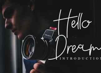 Hello Dream Handwritten Font
