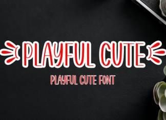Playful Cute Display Font