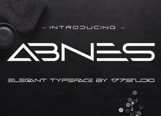 Abnes – Elegant Sans Serif Font