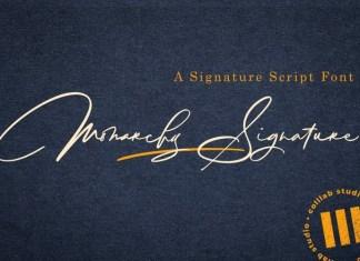 Monarchy Handwritten Font
