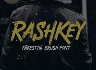 Rashkey Brush Font