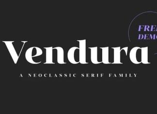 Vendura Sans Serif Font
