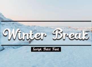 Winter Break Font