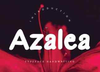 Azalea Handwritten Font