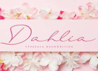 Dahlia Script Font