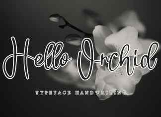 Hello Orchid Handwritten Font