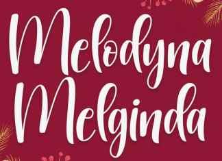 Melodyna Melginda Script Font