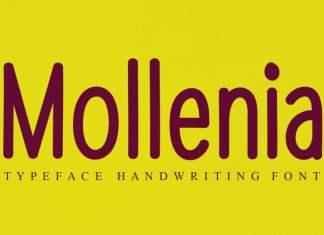 Mollenia Script Font