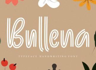Bullena Display Font