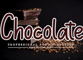 Chocolate Handwritten Font