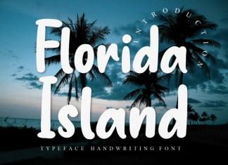 Florida Island Display Font