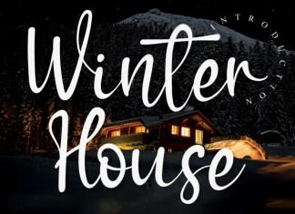 Winter House Script Font