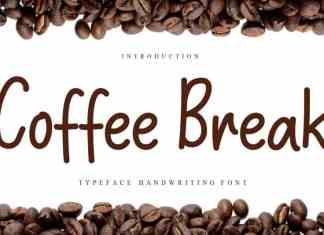 Coffee Break Script Font